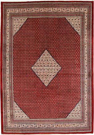 Nain Trading 356x251 Tappeto Orientale Saruk Ruggine/Viola (Persia/Iran, Lana, Annodato a mano)