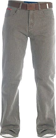 Duke London Duke Mens Brian Bedford Cord Jeans-Brown-42W X 30L