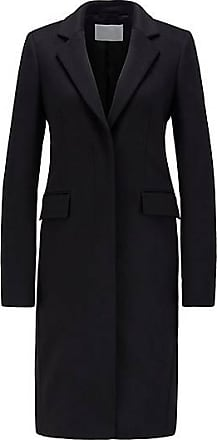BOSS Eleganter Mantel aus italienischer Schurwolle mit Kaschmir