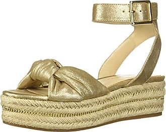 Jessica Simpson Womens APRILLE Sandal, Summer Gold, 8 M US