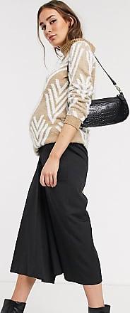 Asos Maternity ASOS DESIGN Maternity tailored clean culottes-Black