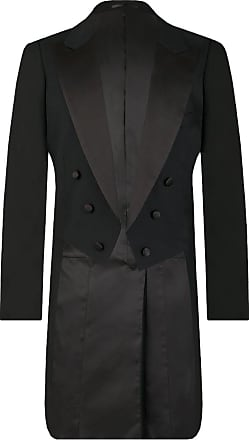 Dobell Mens Black Evening White Tie Tailcoat Jacket 100% Wool-40L