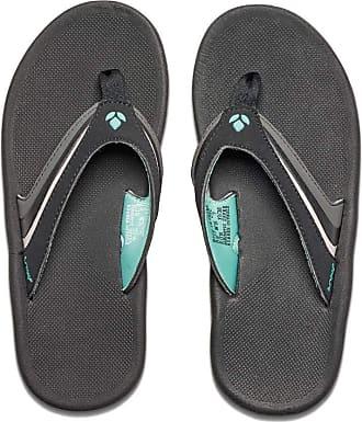 Reef Girls Slap 3, Women Sandals, Black (Black/Black/Aqu), 4 UK (36 EU)