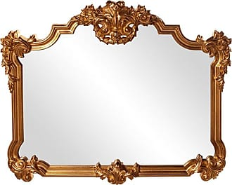Elizabeth Austin Milan Avondale Gold Ornate Mirror - 48W x 39H in. - 56006