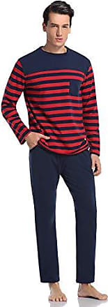 XL,92/%Baumwolle Damen Schlafanzug Pyjama Set 2-teilig Anzug M,L