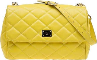 Dolce   Gabbana Dolce And Gabbana Yellow Quilted Leather Miss Kate Shoulder  Bag 4a3fc10e25dac