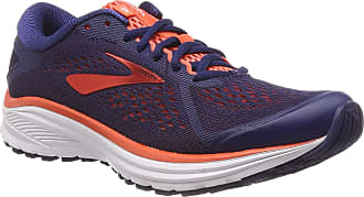 Brooks Womens Aduro 6 Running Shoes, Blue (Blue/Coral/White 438), 7.5 UK