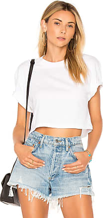Hanes x Karla The Crop Tee in White