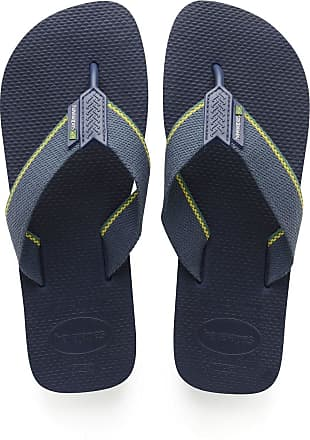 Havaianas Mens Urban Brasil Flip Flops, Navy Blue, 12/13 UK