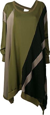 Koché asymmetric jumper dress - Verde