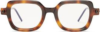 Kuboraum P2 Square Tortoiseshell-acetate Glasses - Mens - Tortoiseshell