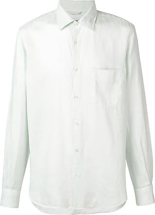 Aspesi Camisa de mangas longas slim - Azul