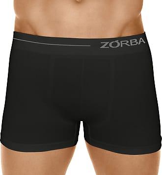Zorba Cueca Boxer Microfibra Side, Zorba, Masculino, Preto, GG