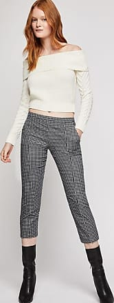 BCBGeneration Herringbone Crop Pant