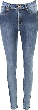 Sawary Calça Jeans Sawary Skinny Mopoc Azul