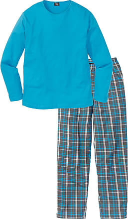 Bonprix Herr Pyjamas i grå lång ärm - bpc collection e5e538e666c1d