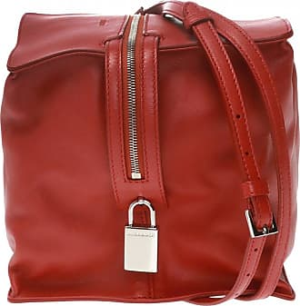Jil Sander Shoulder Bag With Logo Womens Red