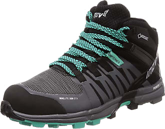 Inov-8 Inov8 Roclite 320 GTX Womens STANDARD FIT Trail Running Shoes/Boots Black/Grey/Teal UK 7.5