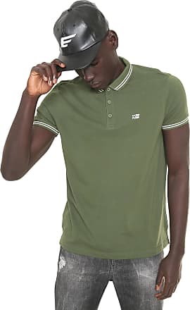 da151ca282d27 Ellus Camisa Polo Básica Lisa Ellus 2ND Floor Reta Listra Verde