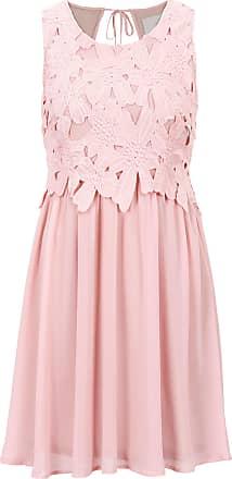 BODYFLIRT boutique Dam Klänning i rosa utan ärm - BODYFLIRT boutique e529ffadf5867