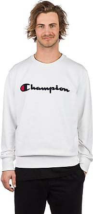 Champion Logo Sweater wht