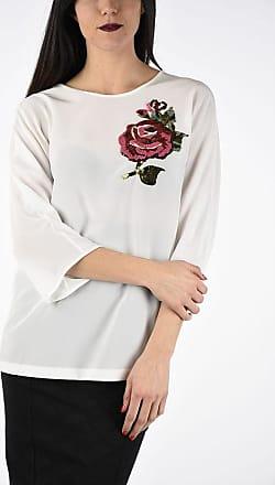 Dolce & Gabbana Embroidery Silk Top size 44