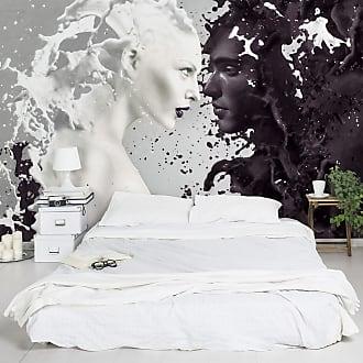 Bilderwelten home24 Papier peint Milk & Coffee
