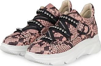 181 Plateau-Sneaker MACIS mit Schmucksteinbesatz - ROSE/ SCHWARZ