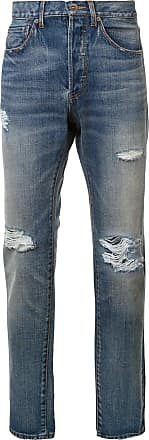 321 distressed mid-rise jeans - Blue