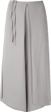 Uma Saia calça Marfim - Cinza