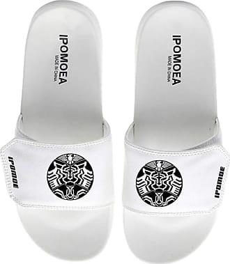 Cosstars Kamen Rider Masked Rider Unisex Anime Slippers Open Toe Sandals Adjustable Hook and Loop 15 / White 290 MM