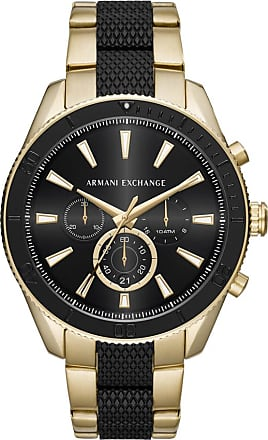 A|X Armani Exchange Relógio Quartz Enzo - Homem - Dourado - Único IT