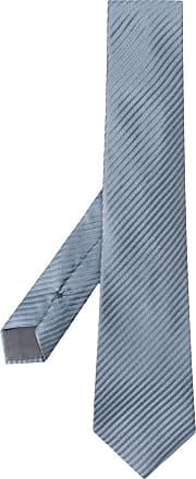 Giorgio Armani Gravata listrada - Azul