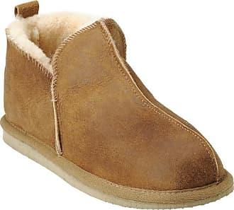 Shepherd of Sweden Ladies Annie 100% sheepskin slipper - EU 38 (UK 5) - Natural