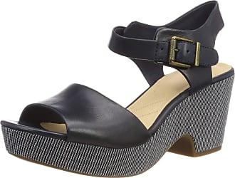 ce511977e6429 Clarks Womens Maritsa Janna Ankle Strap Sandals, Blue (Navy Leather 5.5 UK