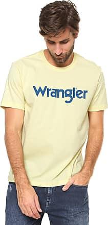 Wrangler Camiseta Wrangler Estampada Amarela