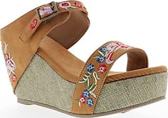 31588c430b413 Volatile® Wedge Sandals − Sale  at USD  22.16+