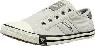 Mustang Chaussures et Sacs Chaussures Chaussures de Ville à Lacets pour Femme Blanc Weiß