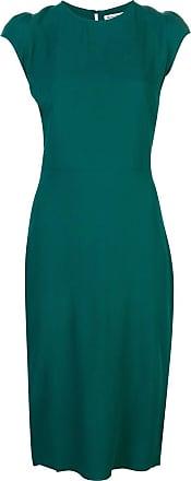 Reformation Vestido Maren com recorte posterior - Verde