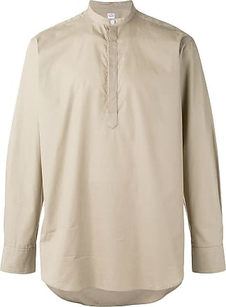 E. Tautz Grandad Collar shirt - Neutro
