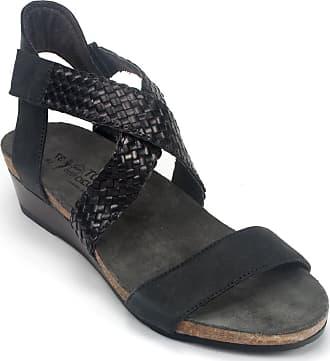 dcbaaa6826bf Naot Womens Cupid Oily Coal Nubuck Black Braid 36 M EU