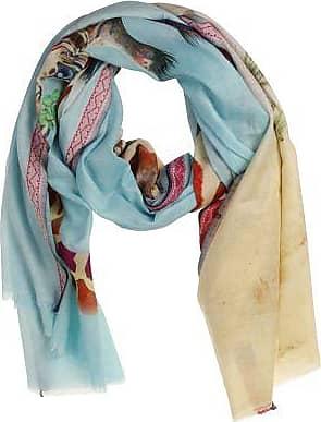 P-Modekontor Dames Sjaals in Wol (Blauw)