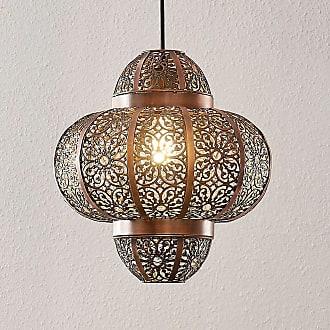 Lindby Darlia lámpara colgante de metal en bronce