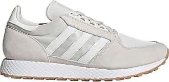 Adidas Originals Gazelle DaimCuir Gris Blanche Meilleures