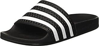 online store 42f57 422f7 adidas Unisex-Erwachsene Adilette Dusch- Badeschuhe, Schwarz (Nero), 48