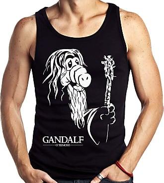 Dragon Store Camiseta Regata GandALF o Teimoso Parodia Sem Manga