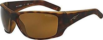 c72666b07f Arnette Mens Heist 2.0 Polarized Rectangular Sunglasses FUZZY HAVANA 66 mm