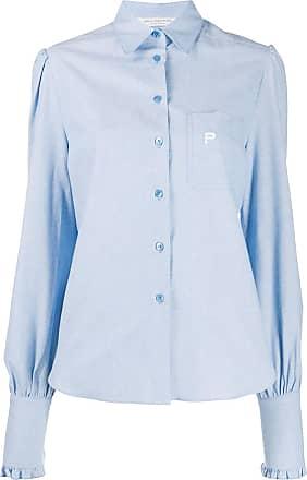 Philosophy di Lorenzo Serafini logo embroidered one pocket shirt - Blue