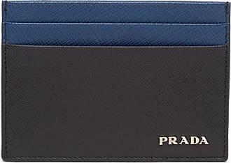 Prada Porta-cartões bicolor - Preto