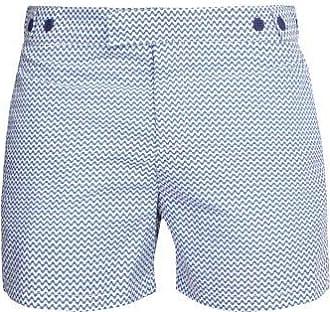 Frescobol Carioca Copacabana Tailored Swim Shorts - Mens - Blue